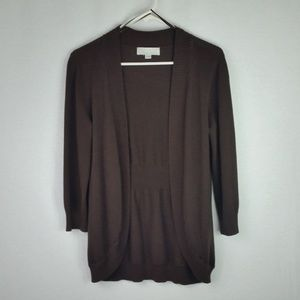 Carolyn Taylor Open Front Cardigan Size S